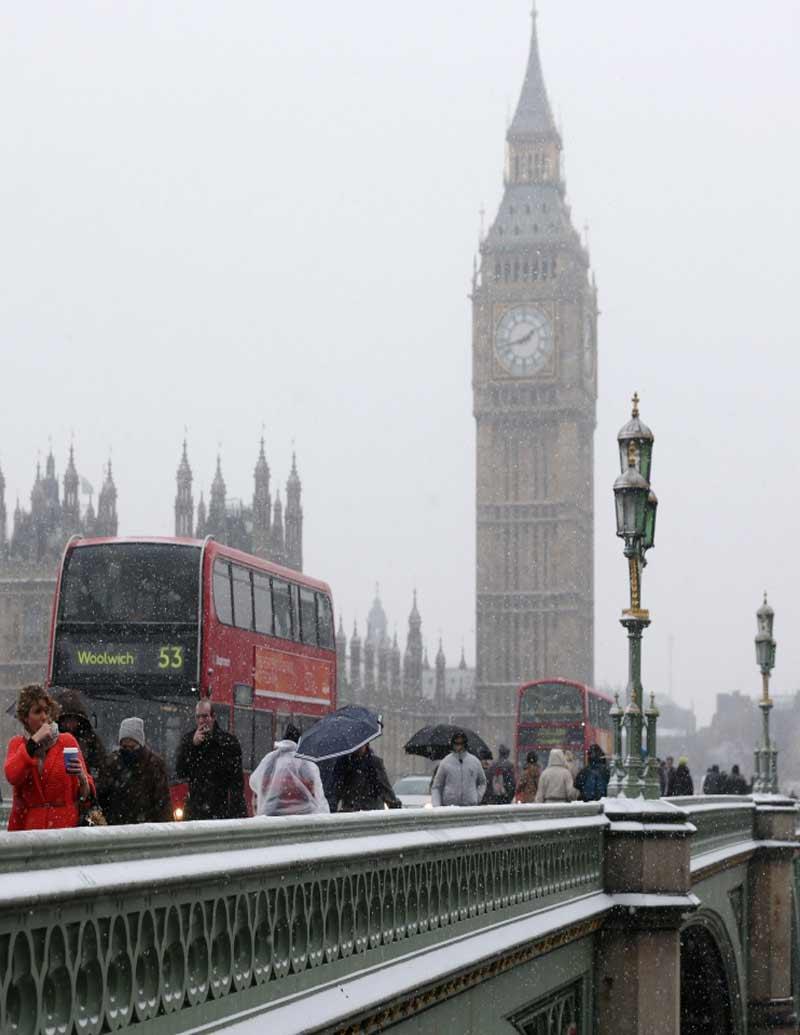 Westminster Bridge London Weather